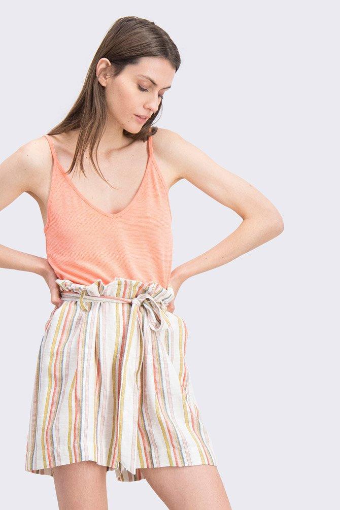 CKS Dames - NANI - mouwloze top - oranje