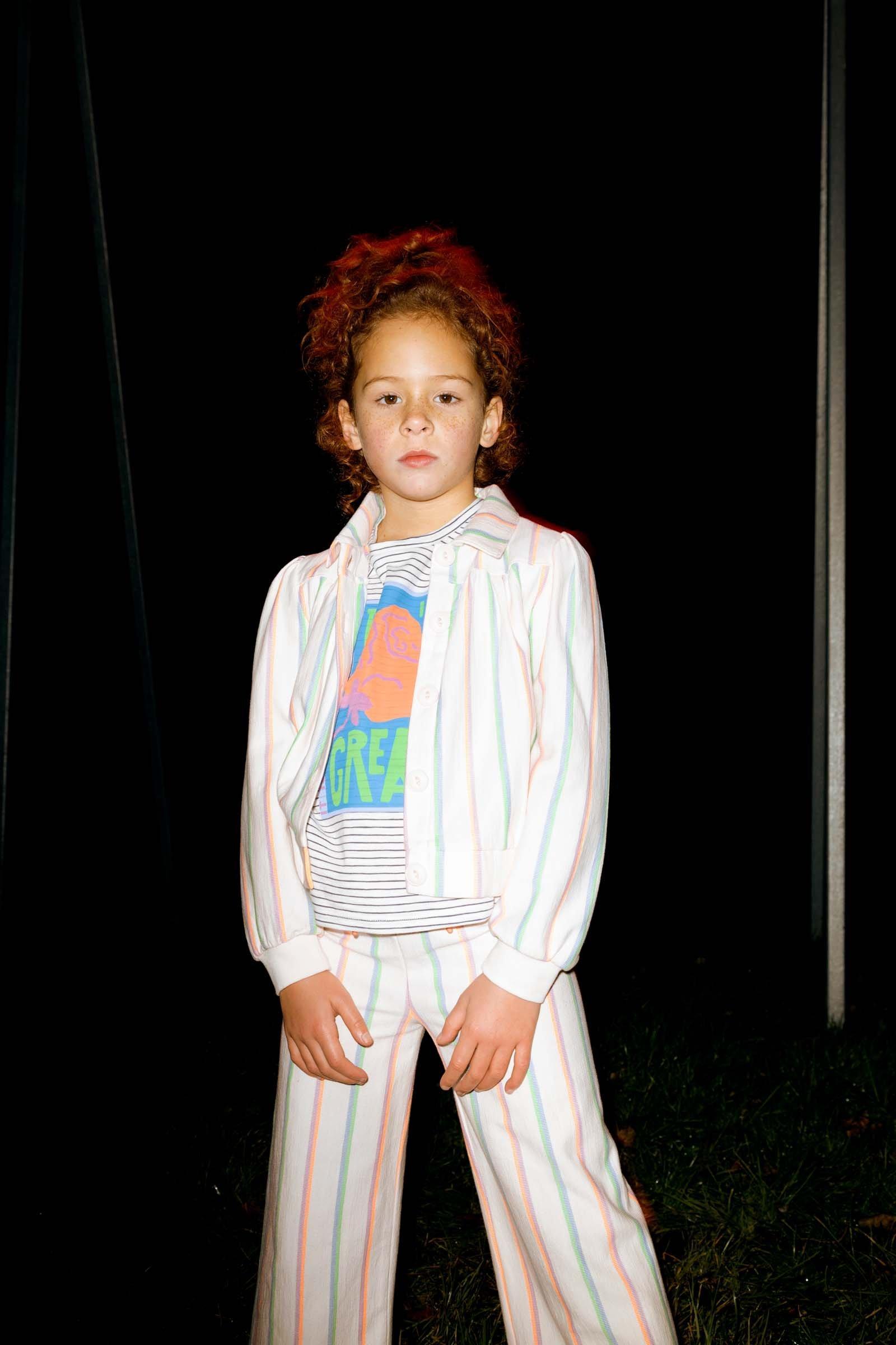 CKS Kids - EVANA - korte casual jas - meerkleurig