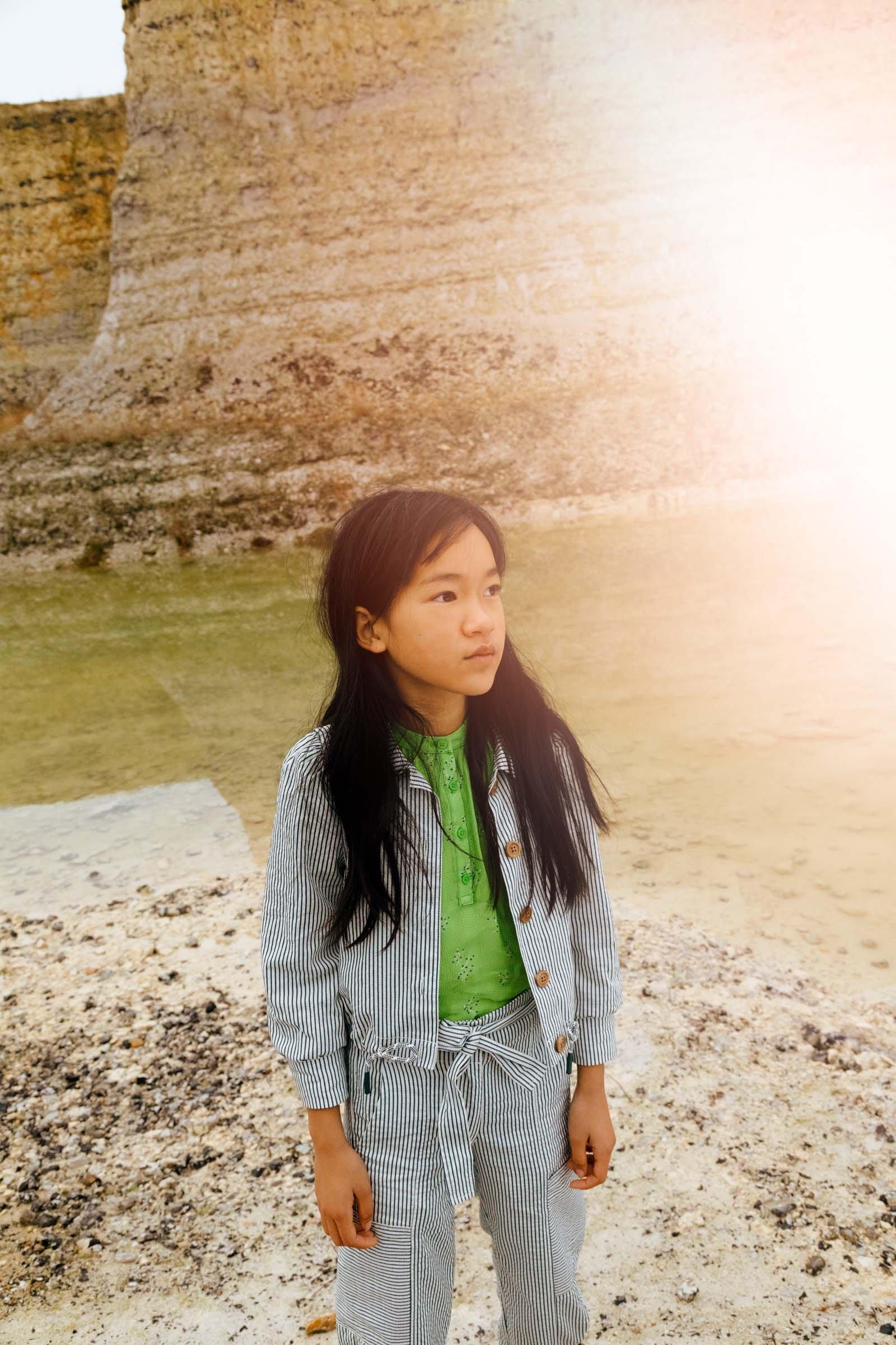 CKS Kids - ESTA - korte casual jas - wit