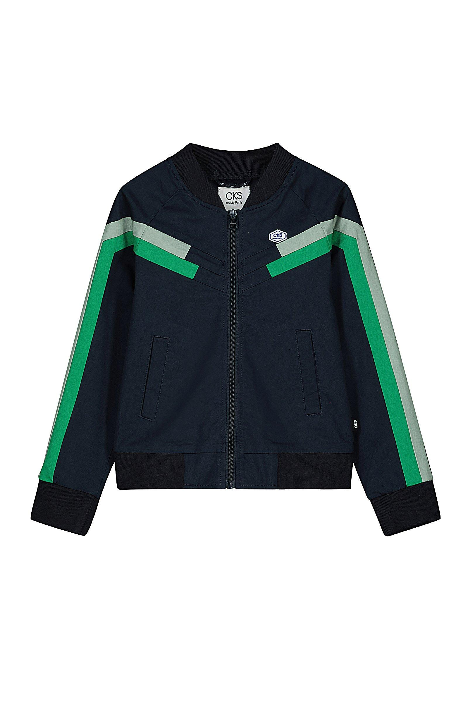 CKS Kids - BURT - korte casual jas - blauw