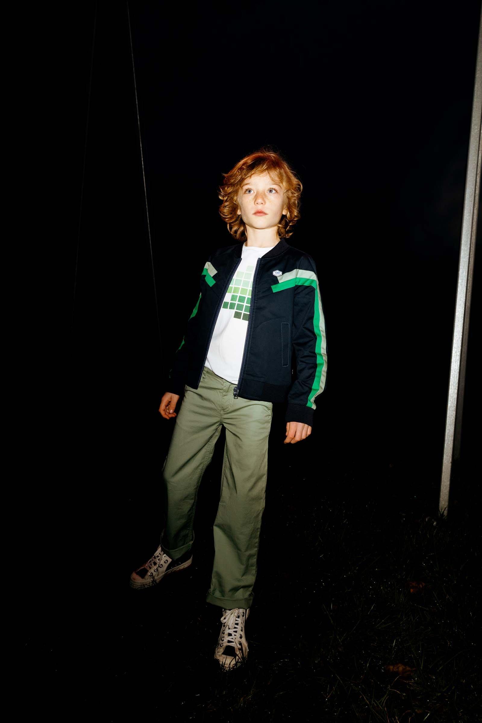CKS Kids - BERNIE - lange broek - khaki