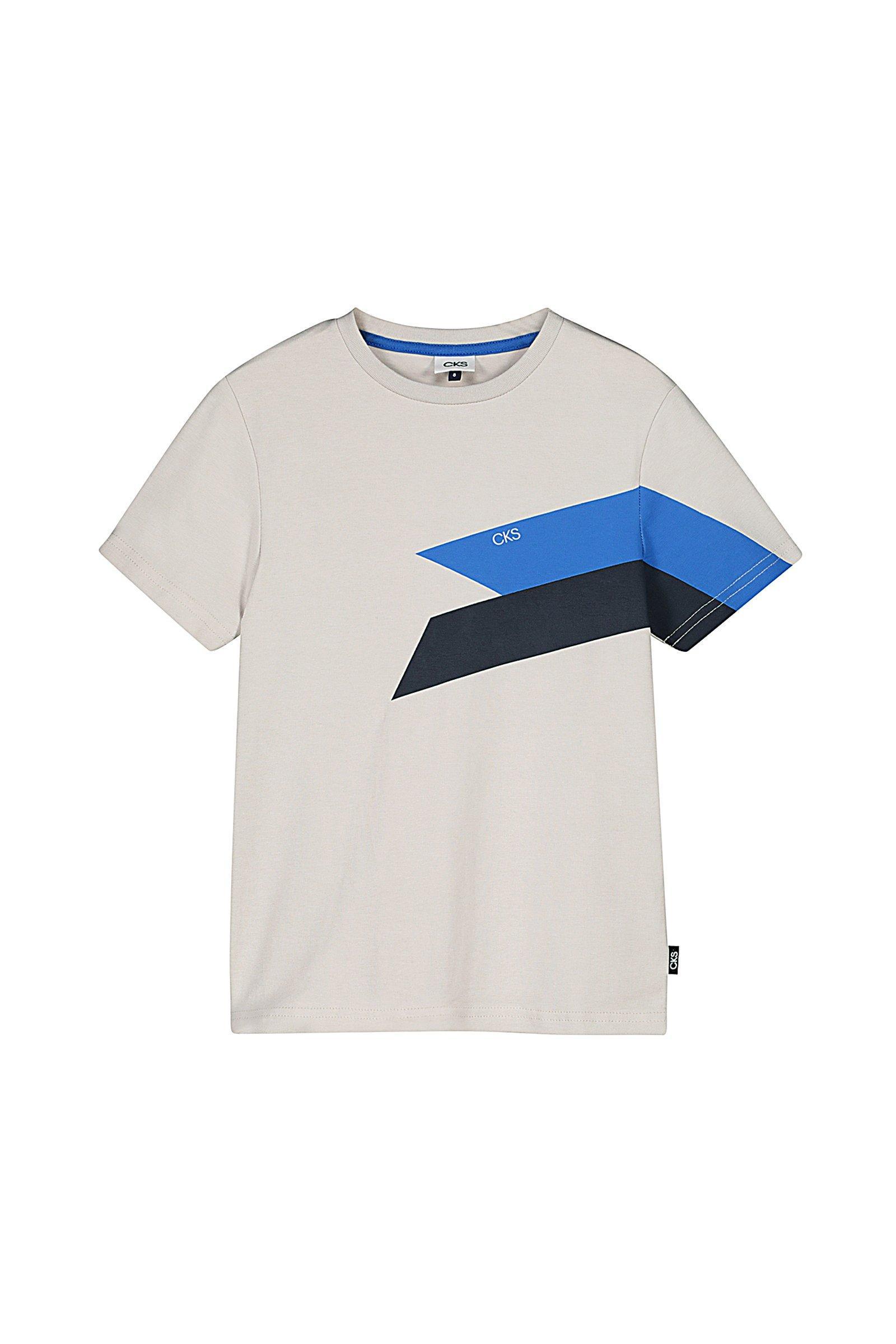 CKS Kids - YANICK - t-shirt korte mouwen - lichtbruin