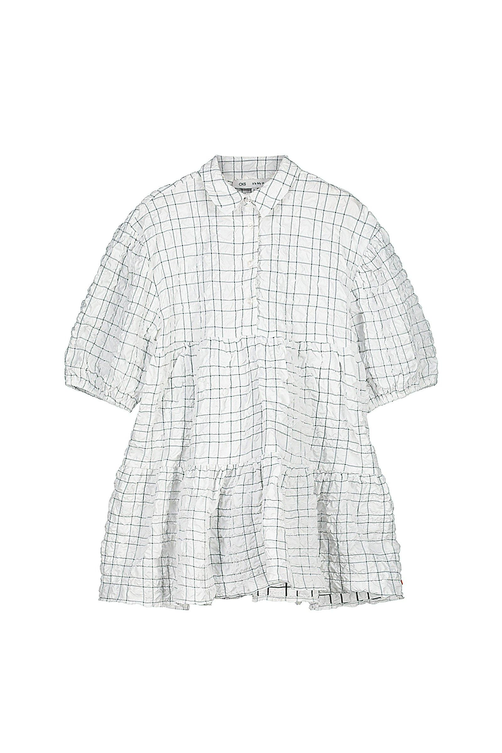 CKS Kids - INDIANA - korte jurk - wit
