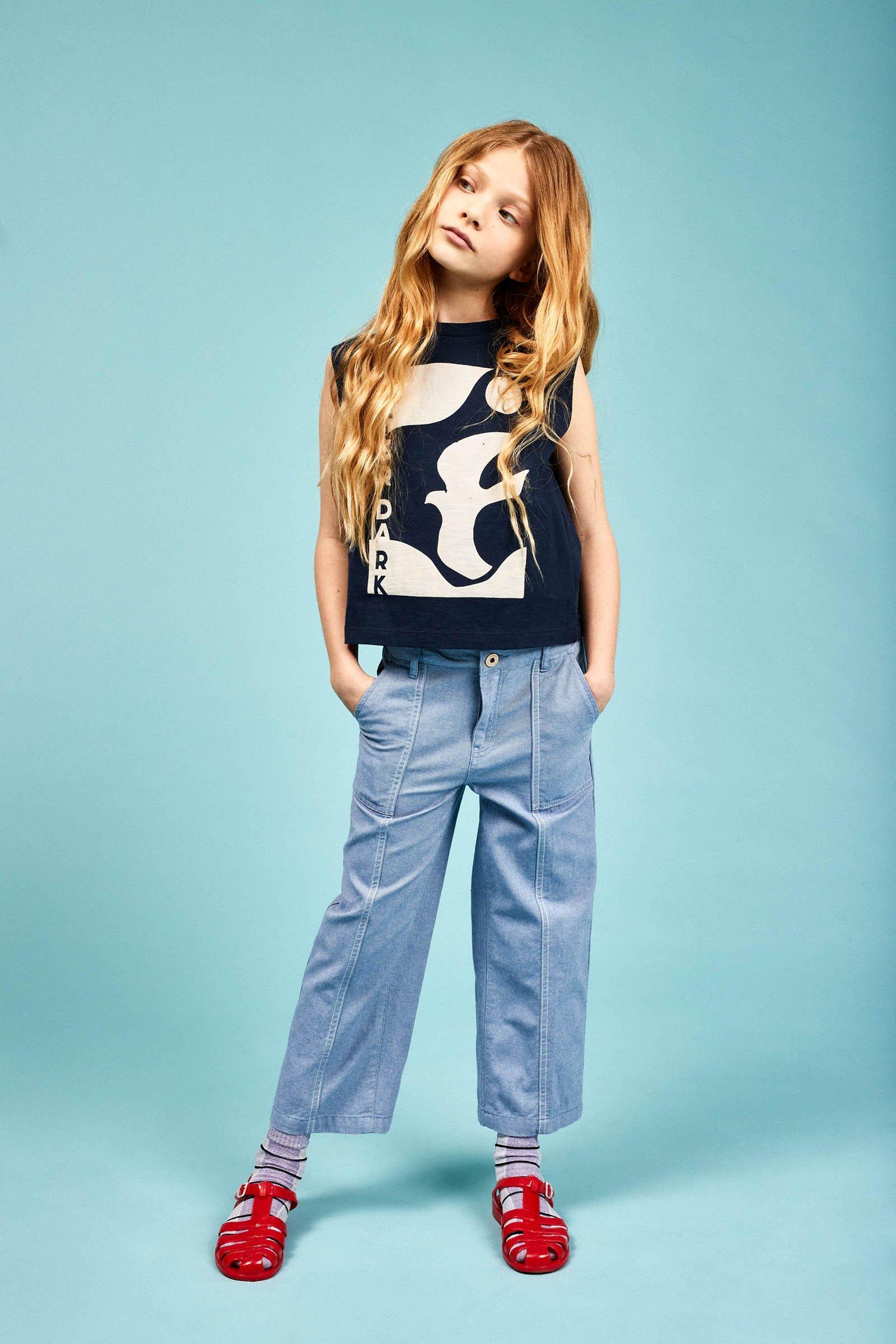 CKS Kids - WACLOO - enkel broek - blauw
