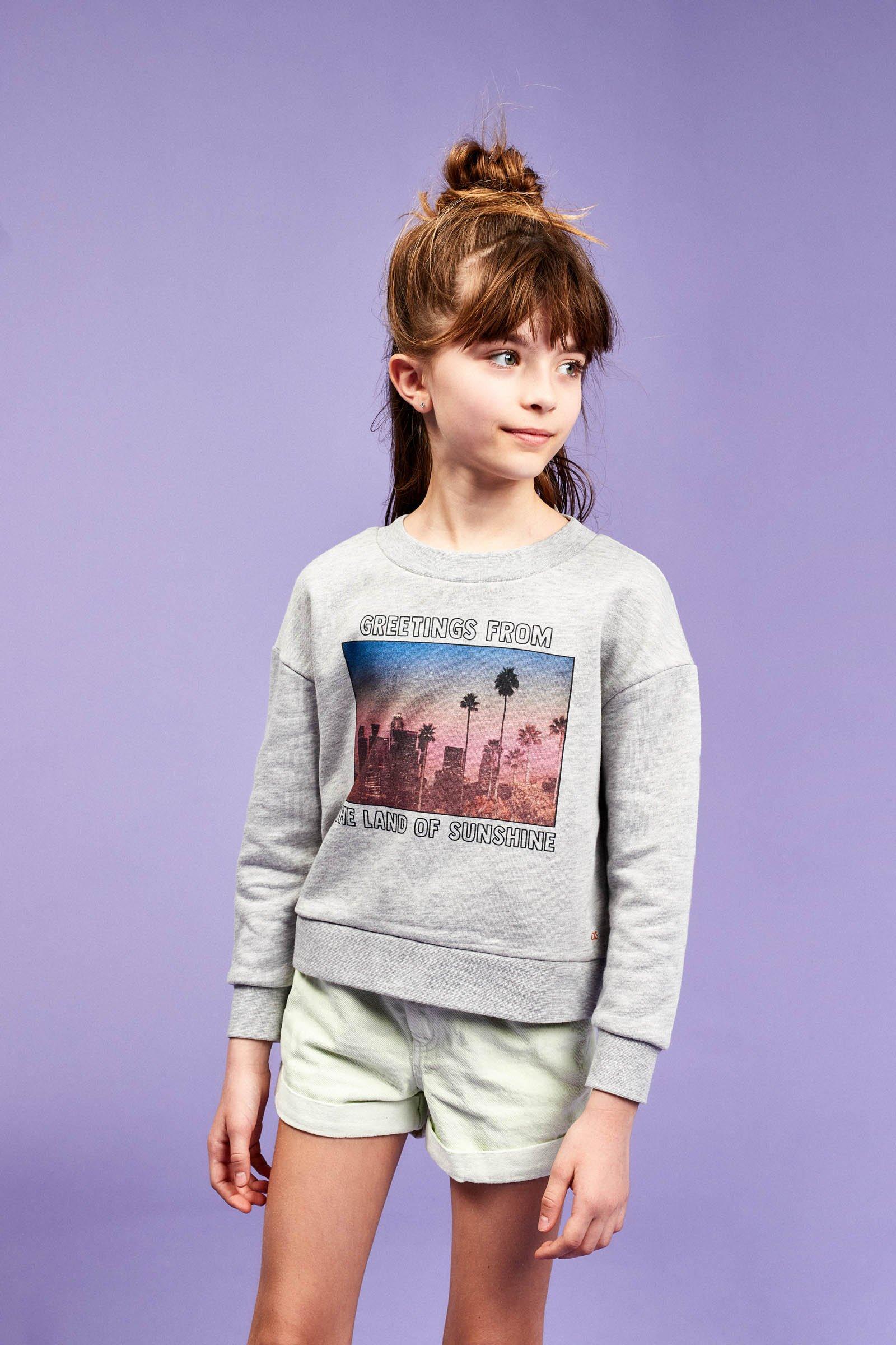 CKS Kids - WIGGLE - sweater - grijs