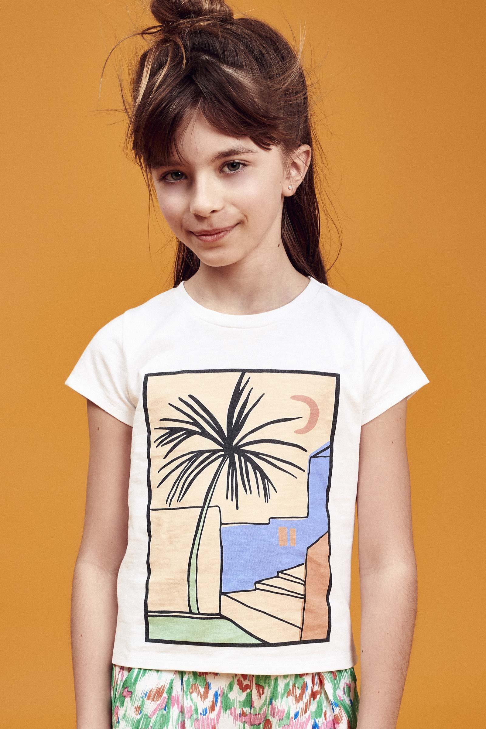 CKS Kids - WARE - t-shirt korte mouwen - wit