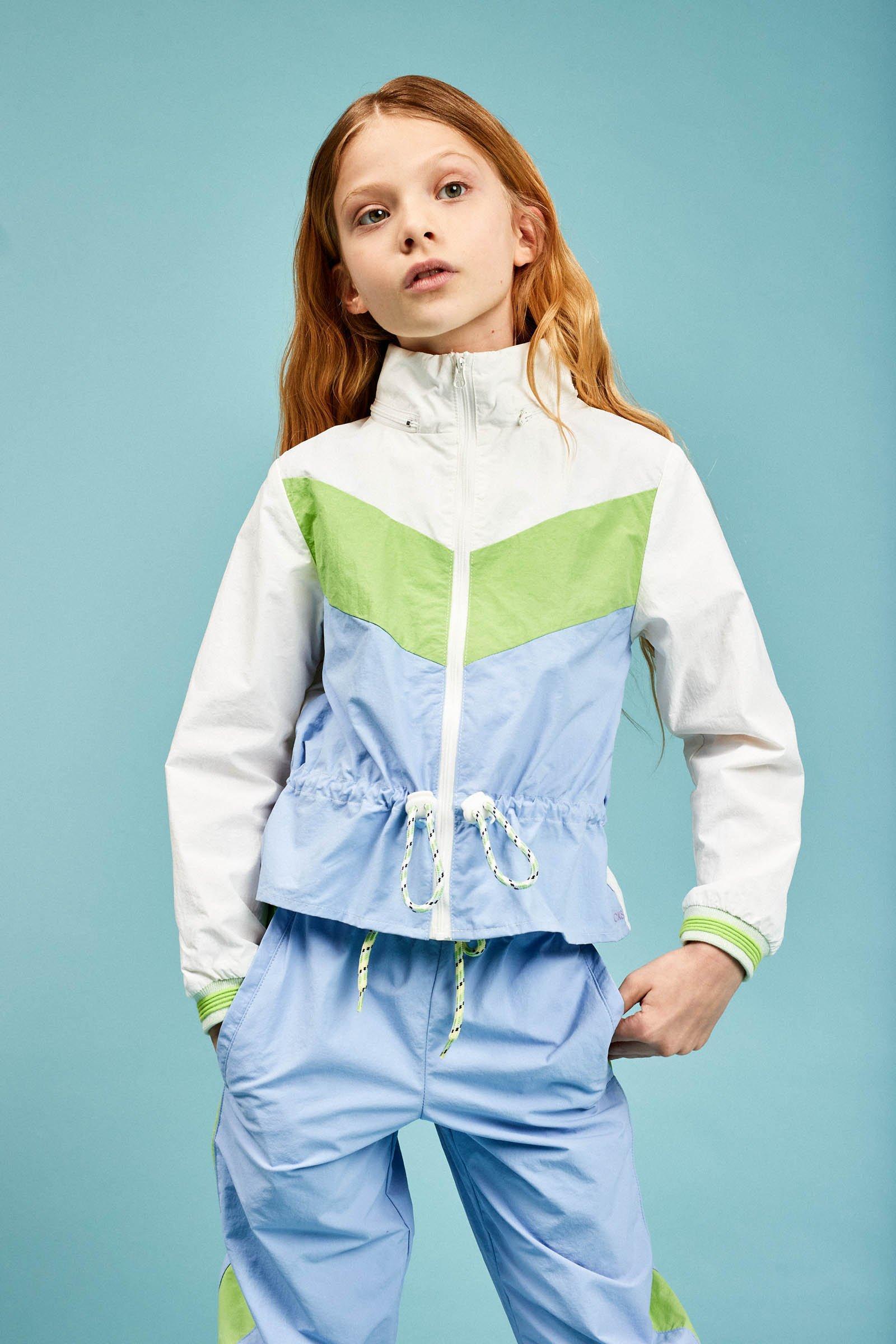 CKS Kids - DEAN - korte casual jas - wit