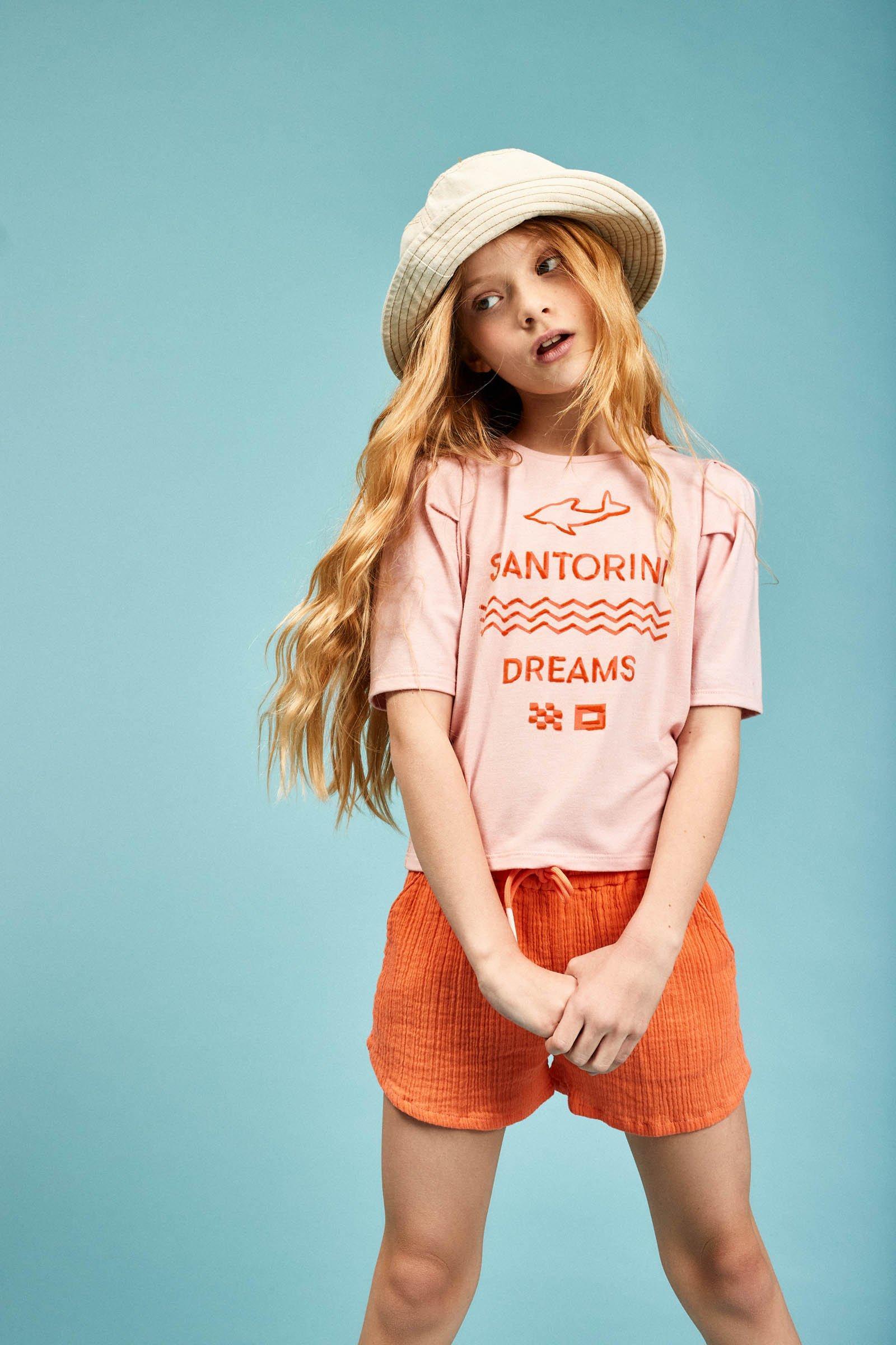 CKS Kids - ELLA - t-shirt korte mouwen - roze