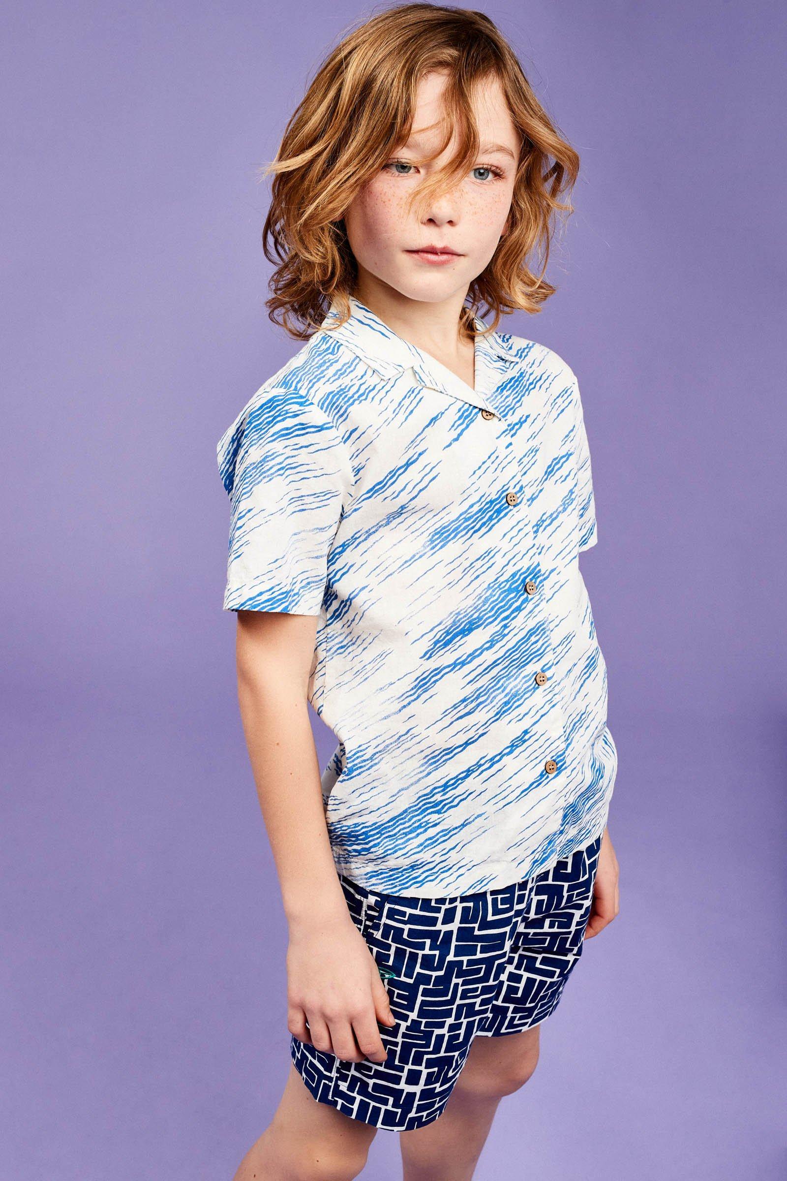 CKS Kids - OLIVER - shirt korte mouwen - wit