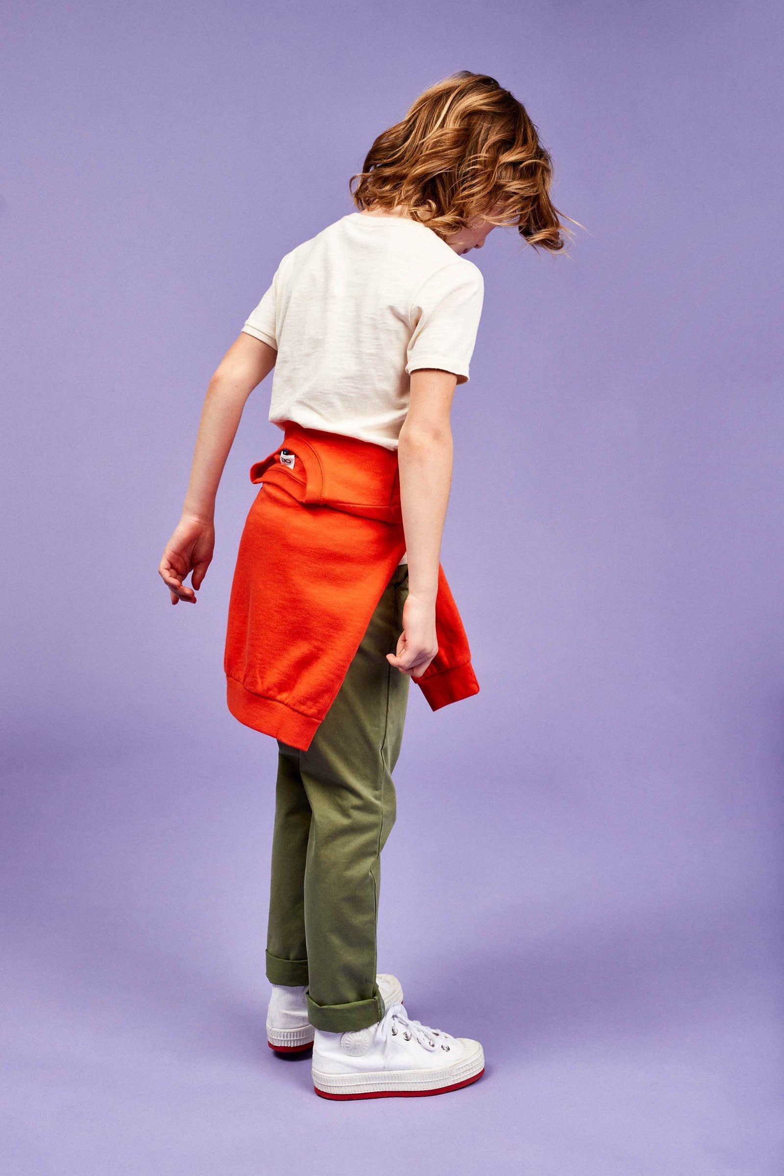 CKS Kids - BRUNO - lange broek - khaki