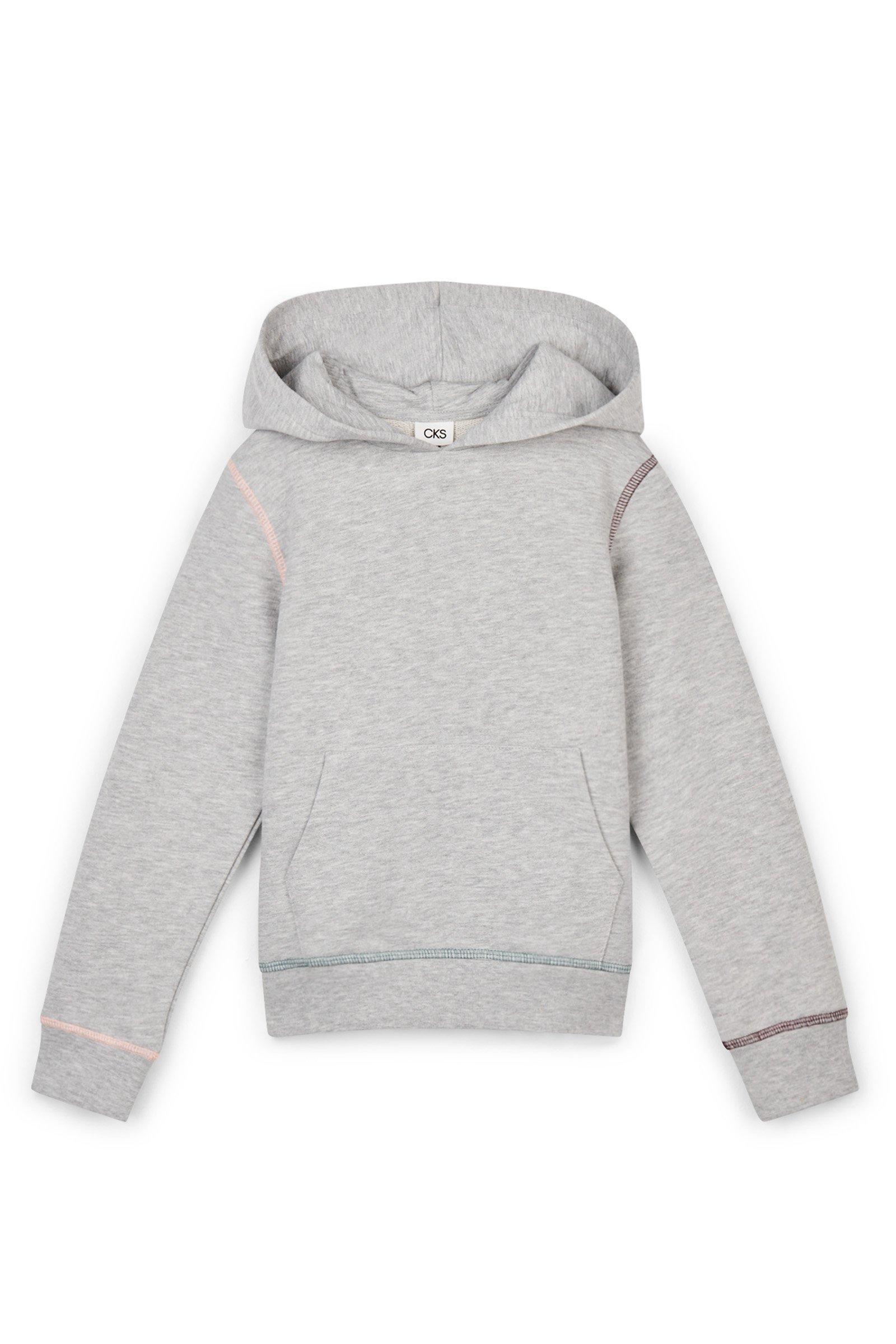 CKS Kids - BARTEL - sweater met capuchon - grijs
