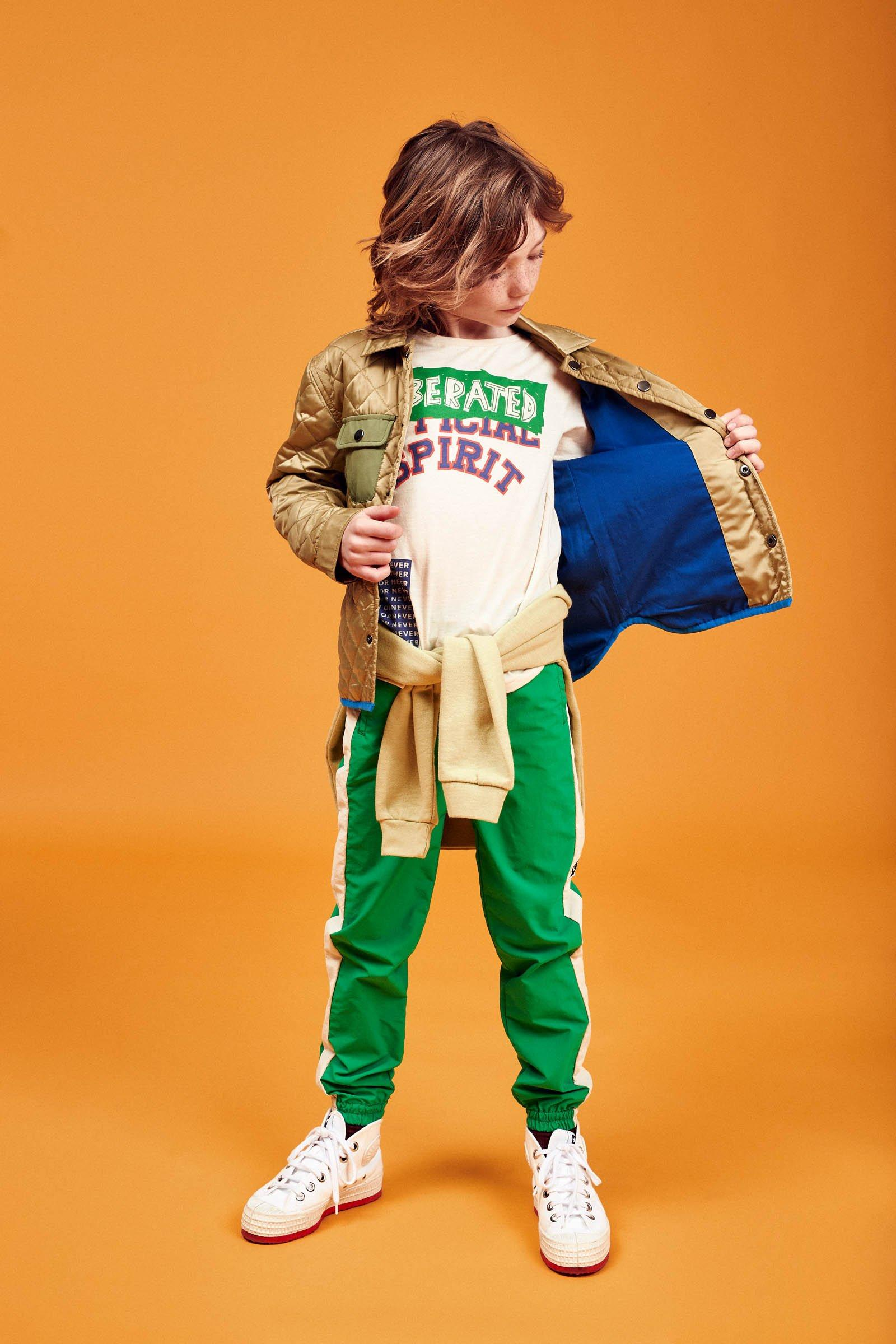 CKS Kids - OTARI - lange broek - khaki