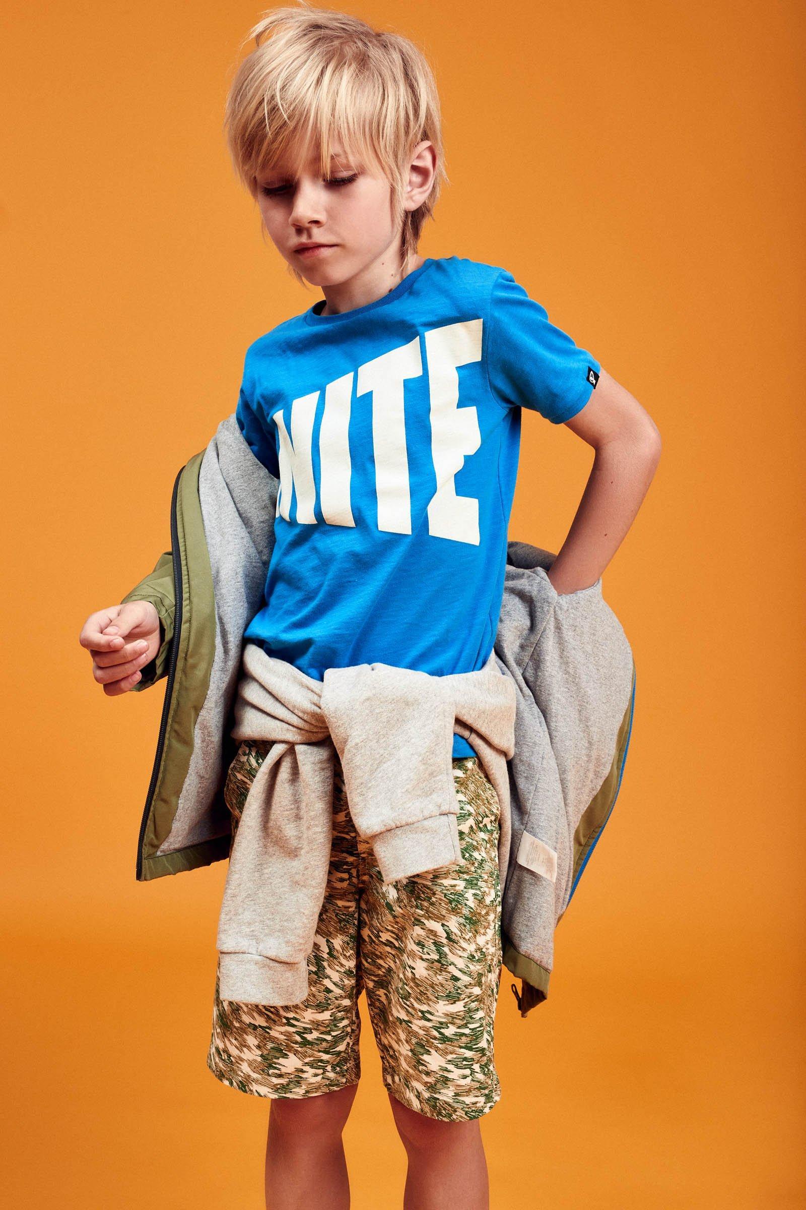 CKS Kids - YEMIEL - t-shirt korte mouwen - blauw