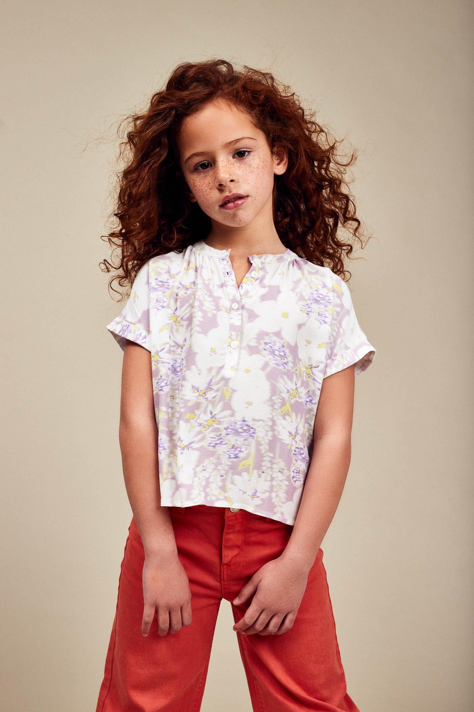 CKS Kids - EBOWA - blouse lange mouwen - meerkleurig