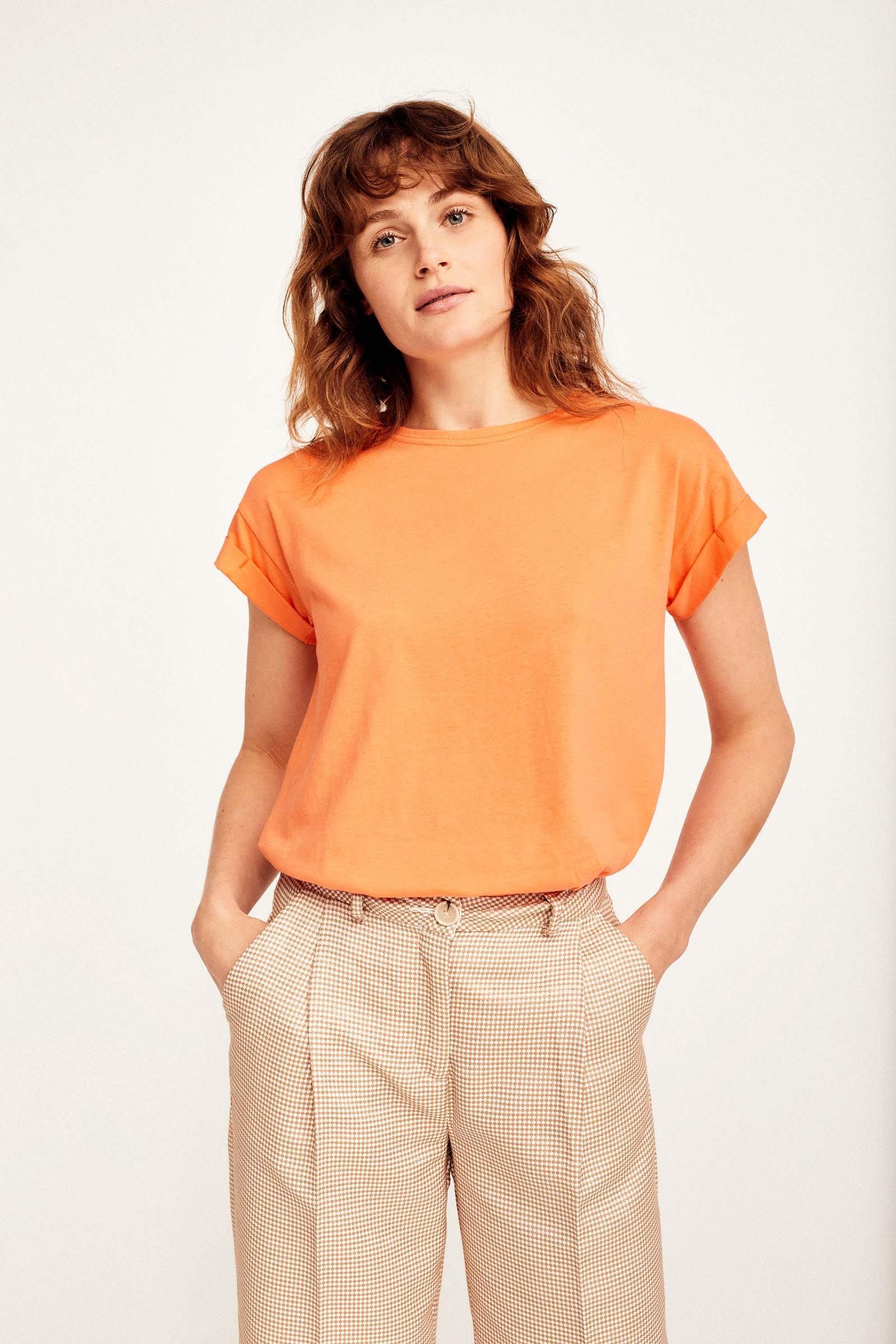 CKS Dames - JUNA - t-shirt korte mouwen - rood