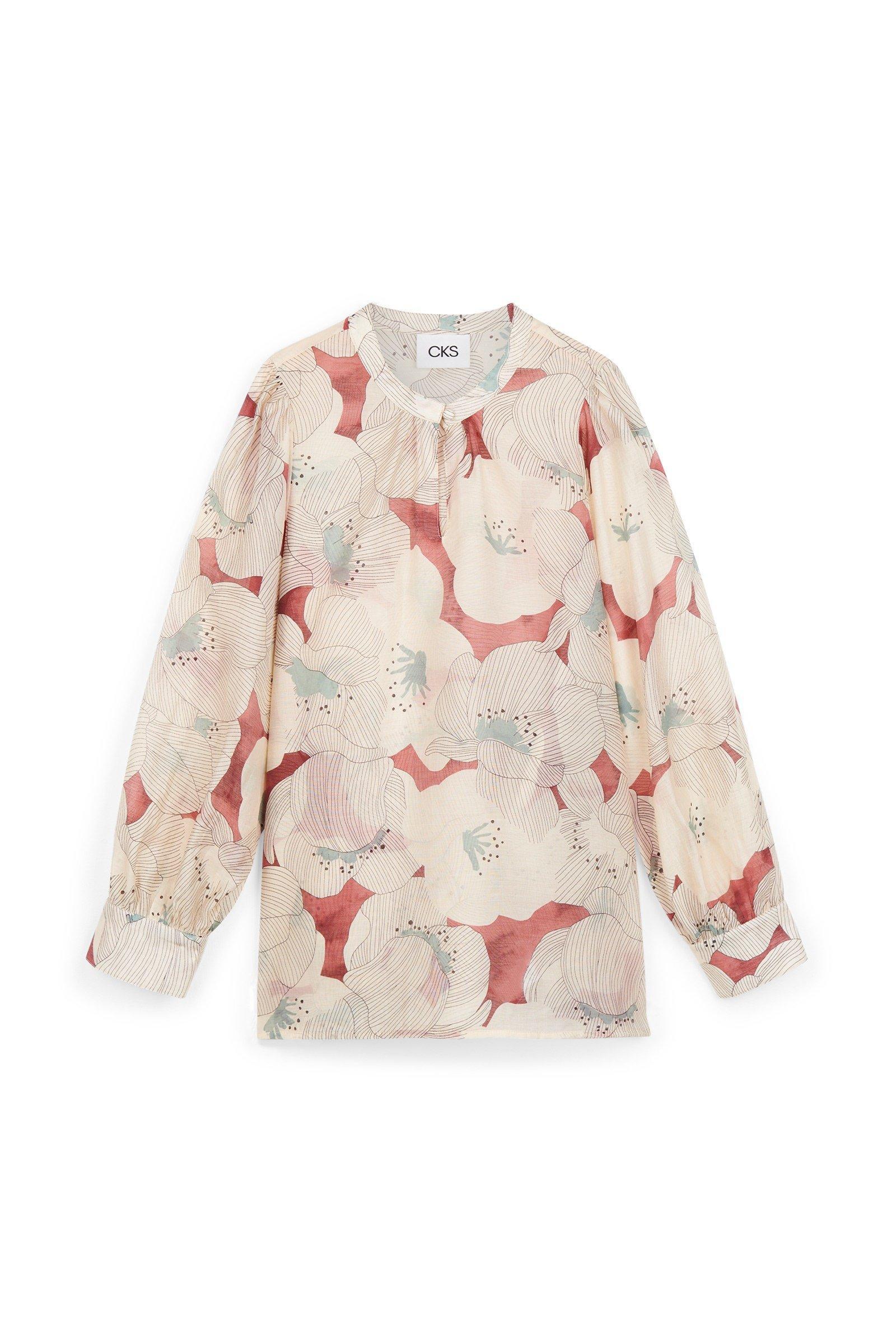CKS Dames - MICKEY - blouse korte mouwen - meerkleurig