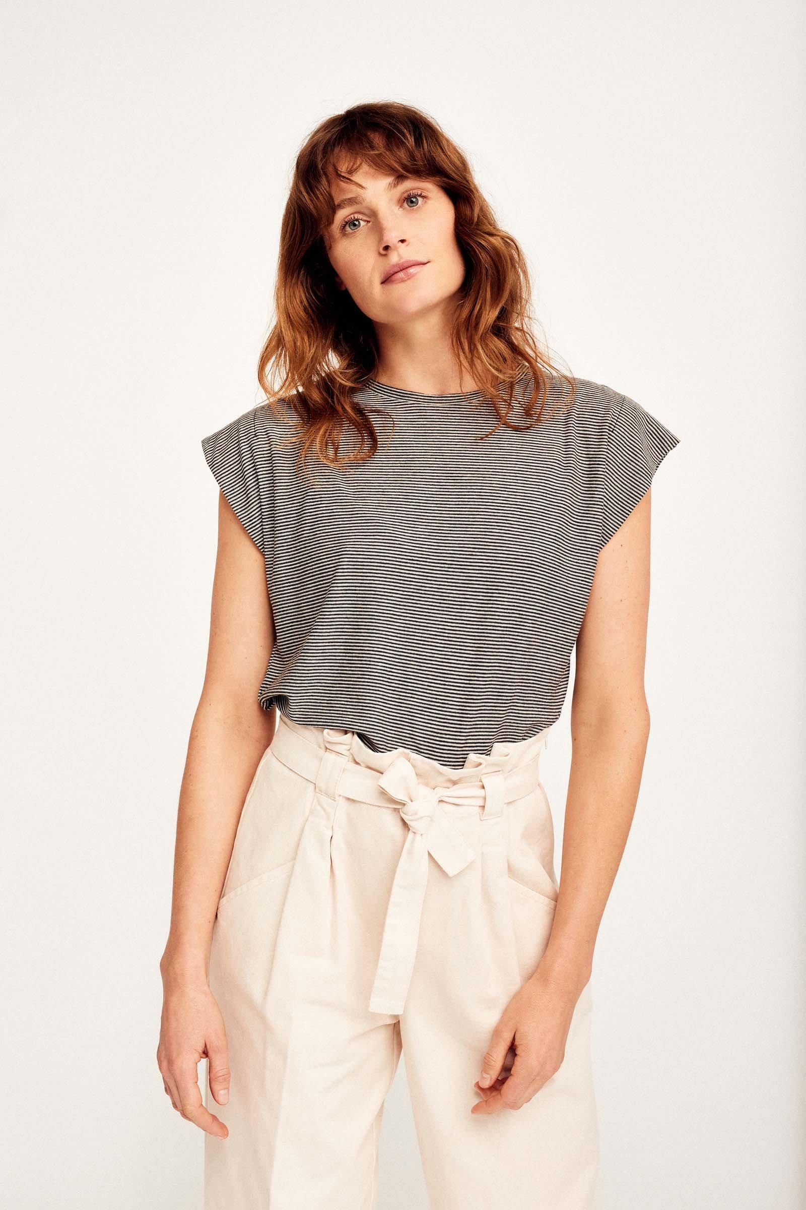 CKS Dames - PAMINA - t-shirt korte mouwen - meerkleurig