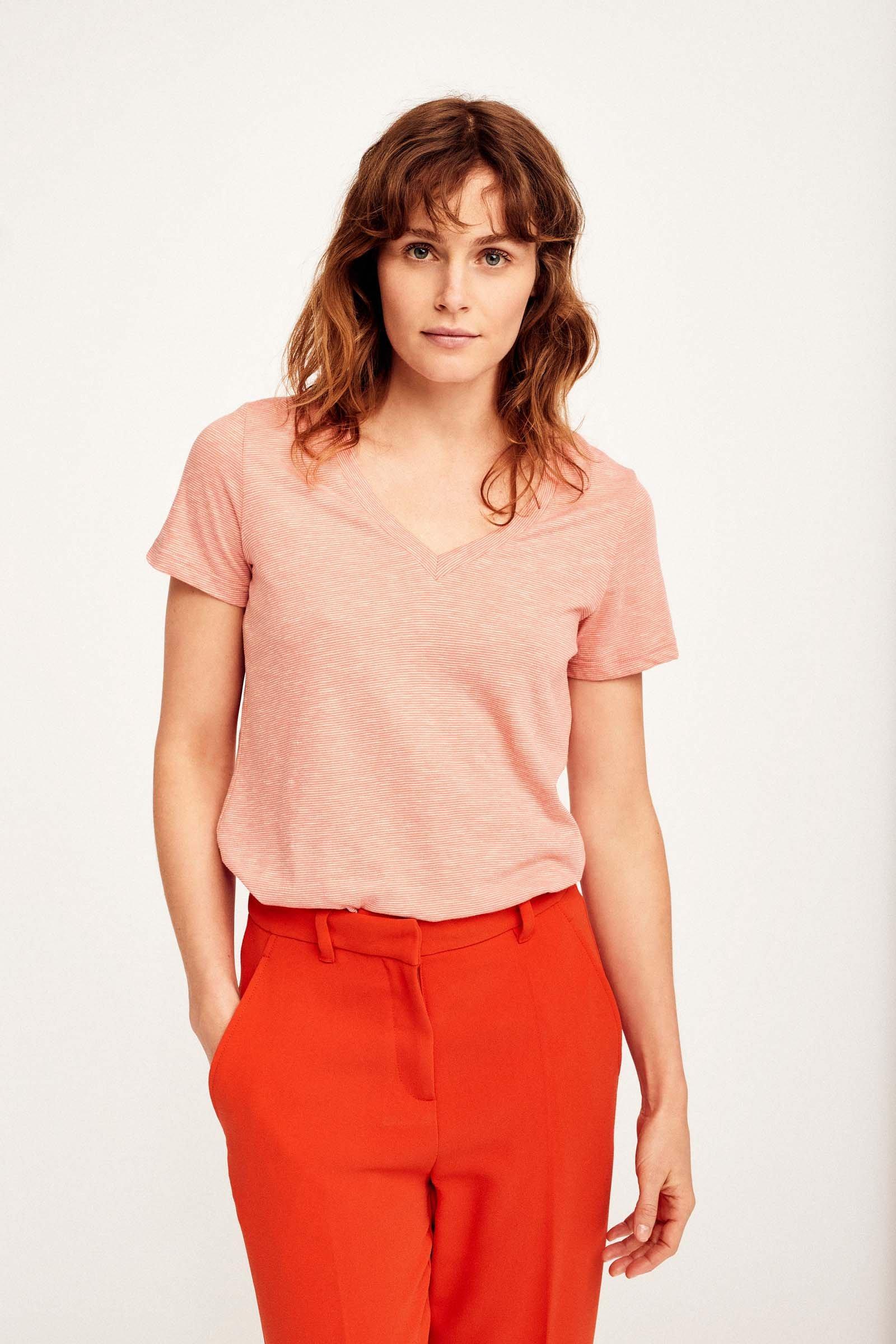 CKS Dames - NEBONY - t-shirt korte mouwen - oranje