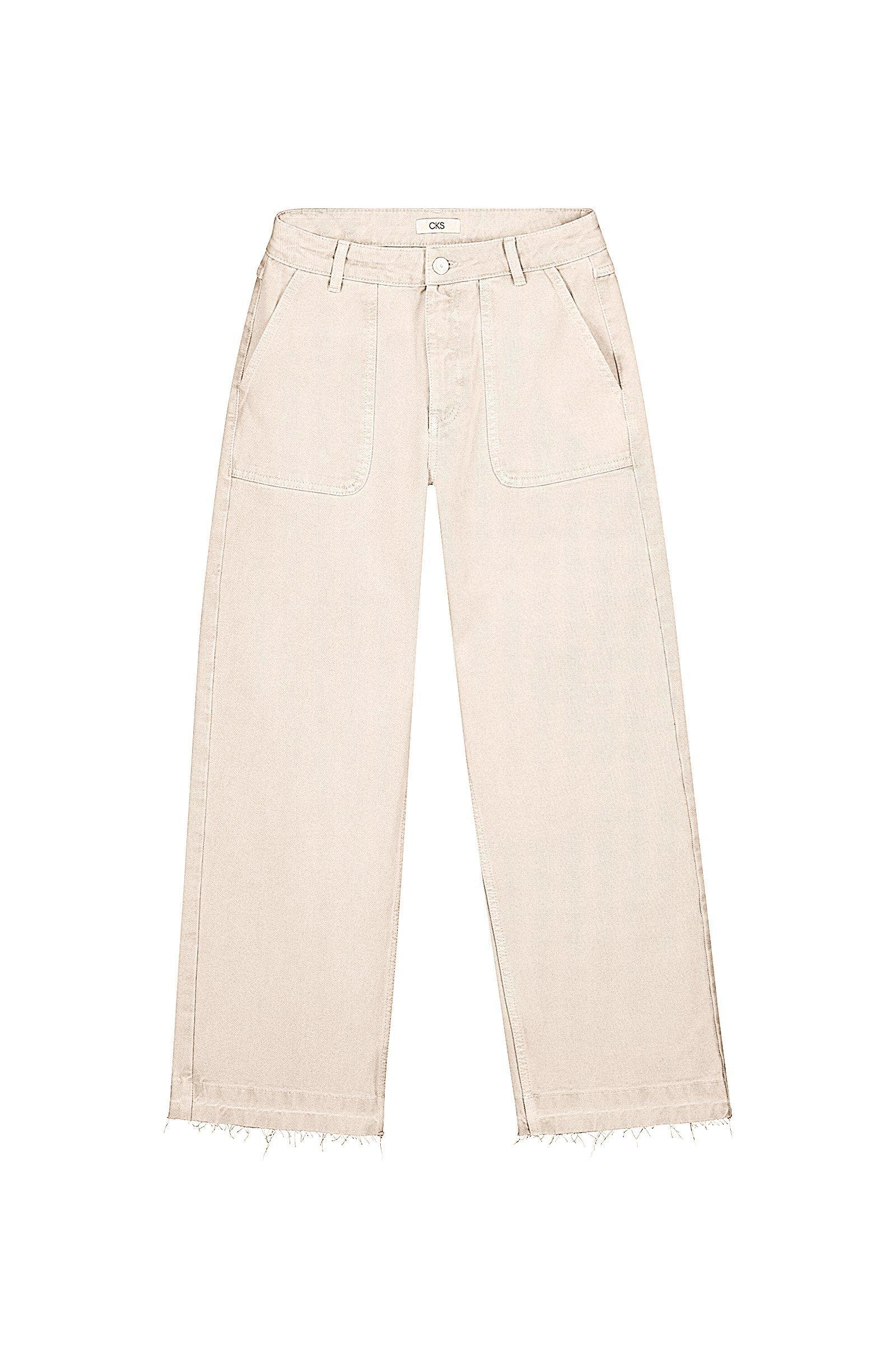 CKS Dames - LARENTINA - driekwart jeans - meerkleurig