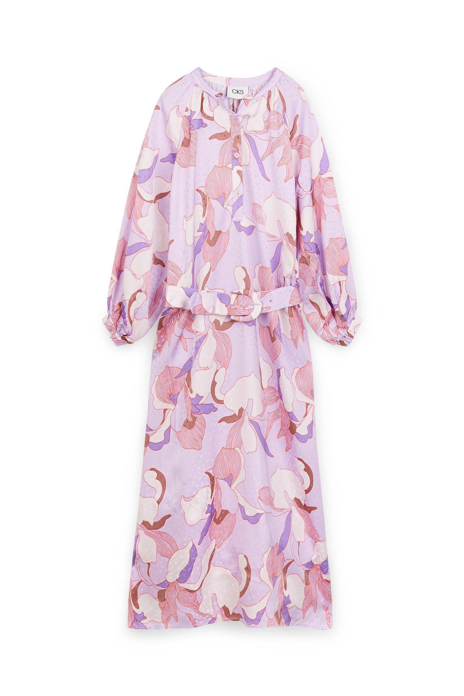 CKS Dames - MALI - lange jurk - meerkleurig