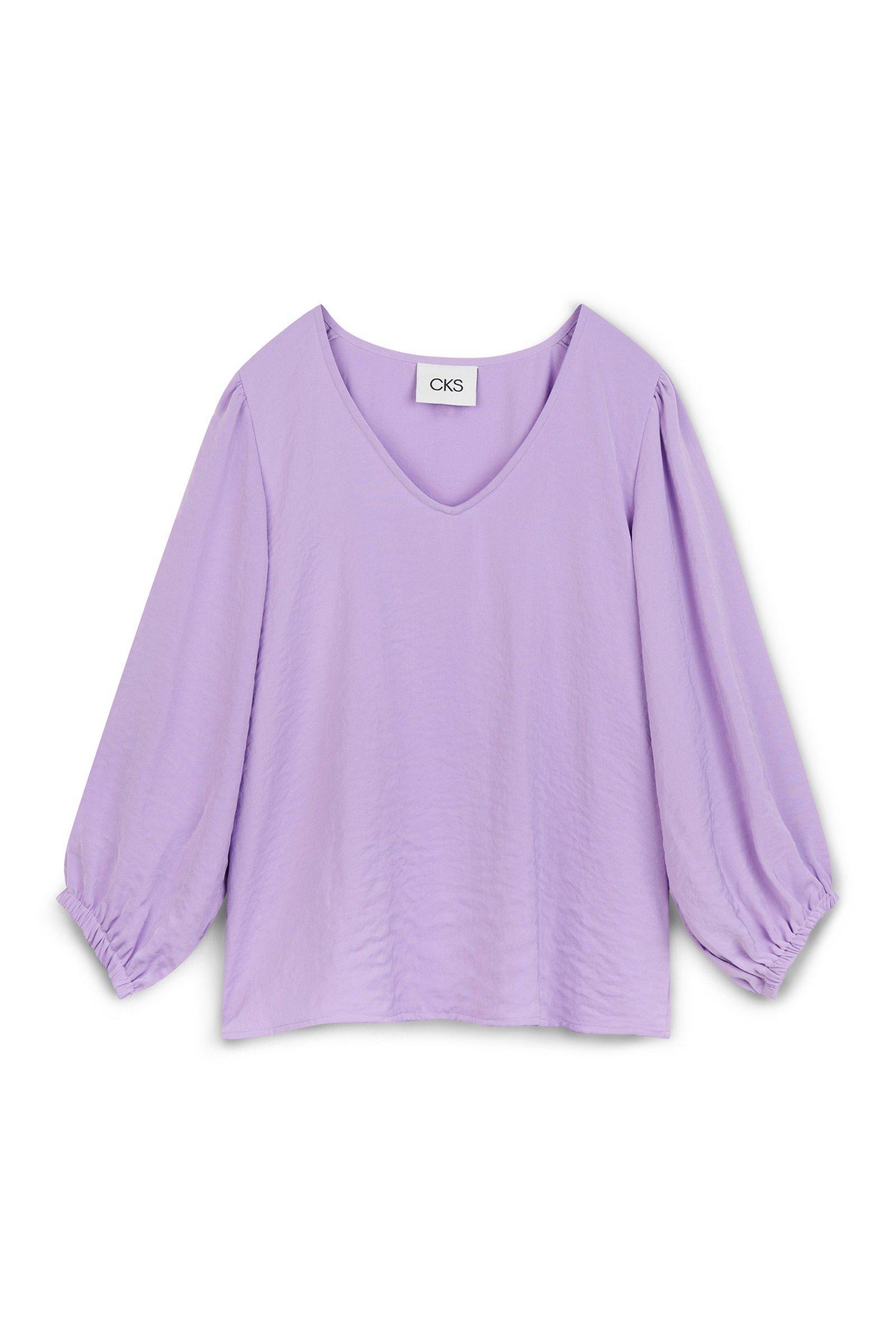 CKS Dames - RIKA - blouse korte mouwen - meerkleurig