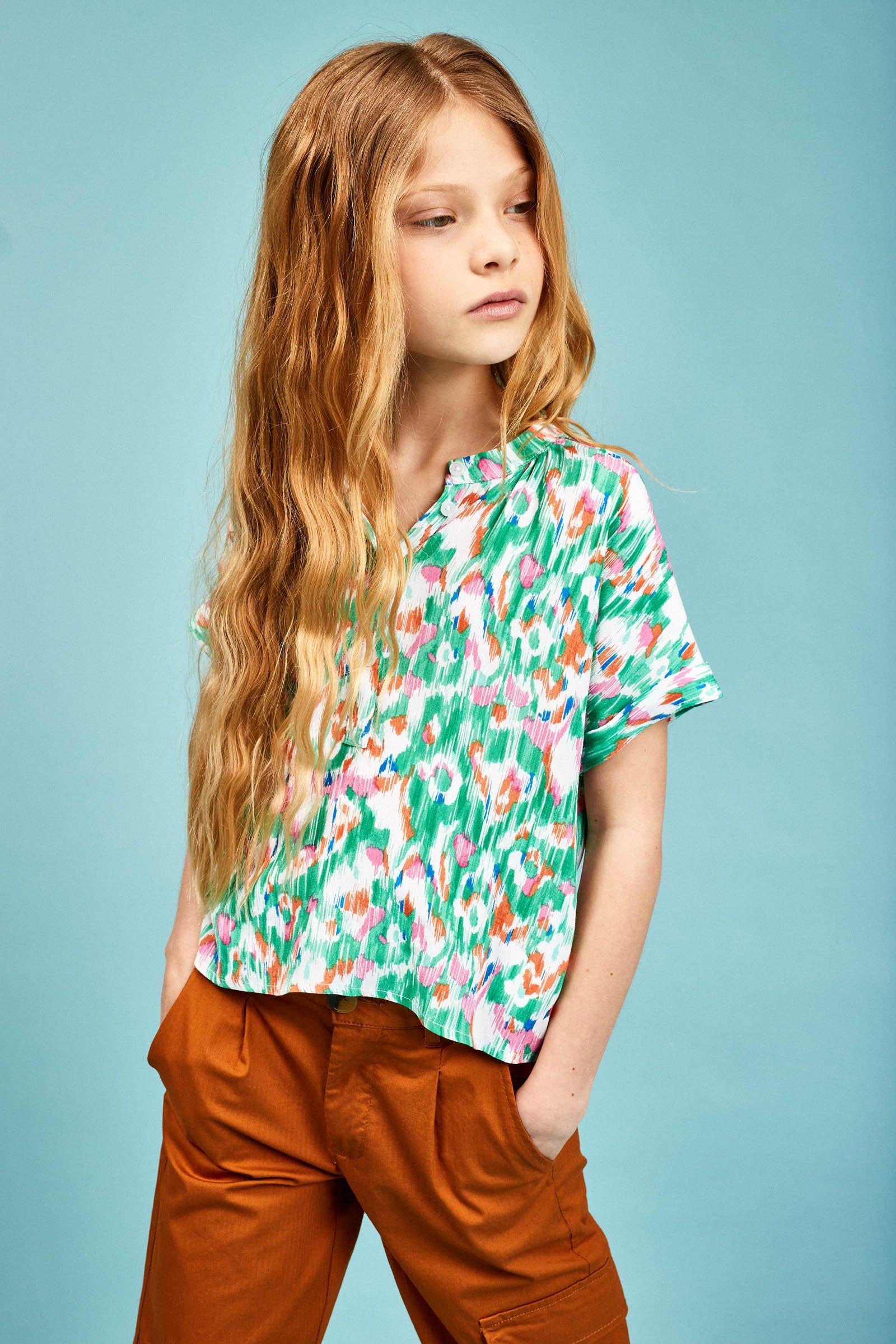 CKS Kids - EBOW - blouse lange mouwen - meerkleurig