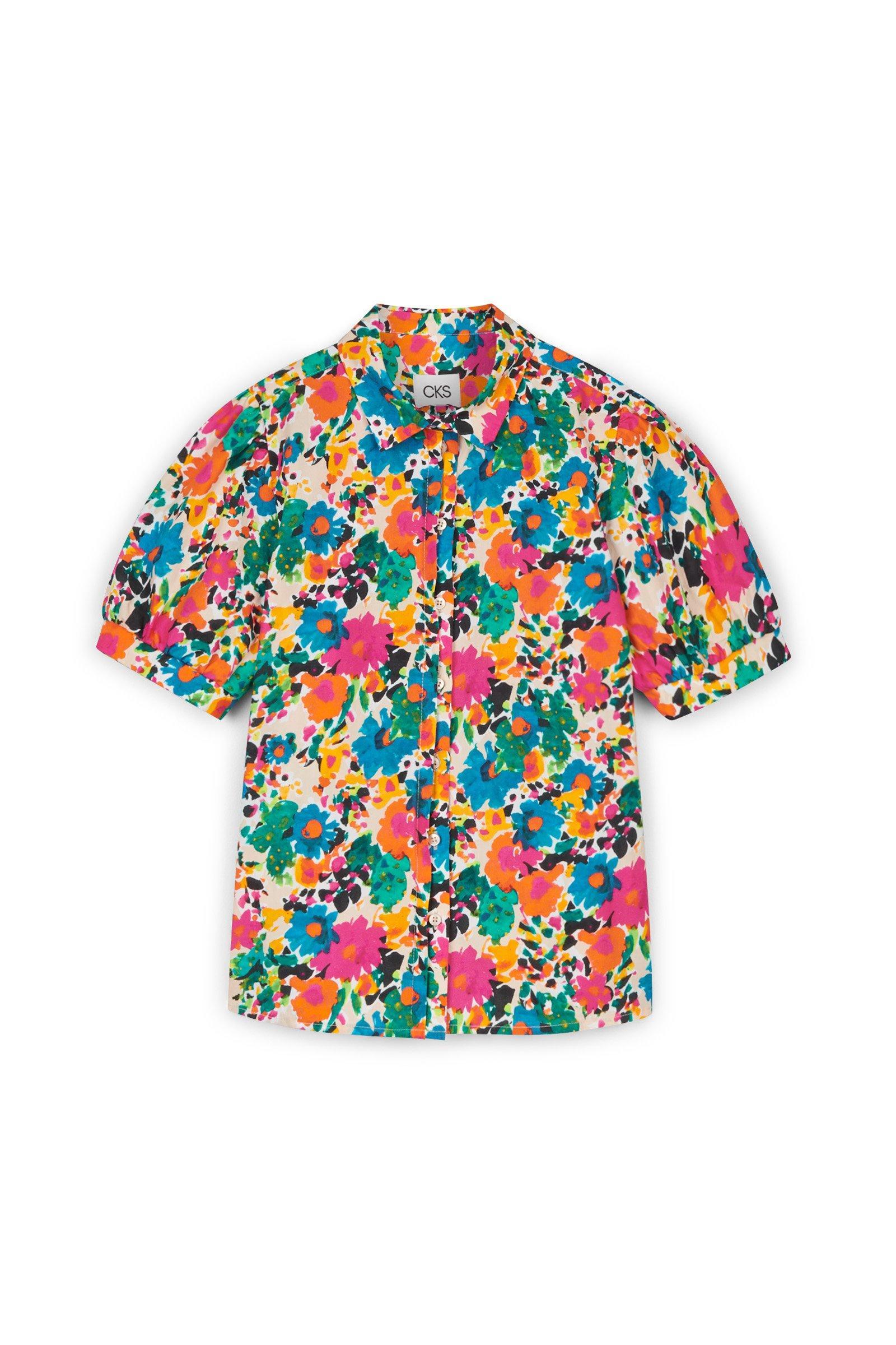 CKS Dames - ELINORES - blouse korte mouwen - meerkleurig
